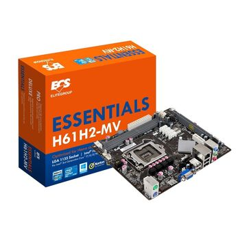 PLACA BASE ECS H61H2-MV V1.0 S1155 VGA 2XDDR3 PS2