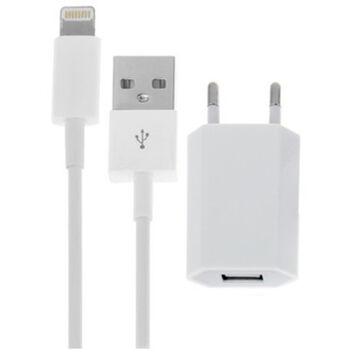 CARGADOR CASA LIGHTNING COMPATIBLE IPHONE IPAD