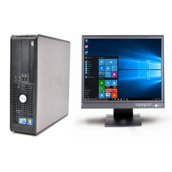 ORDENADOR DELL OPTIPLEX 780 SFF C2D MONITOR AIRIS